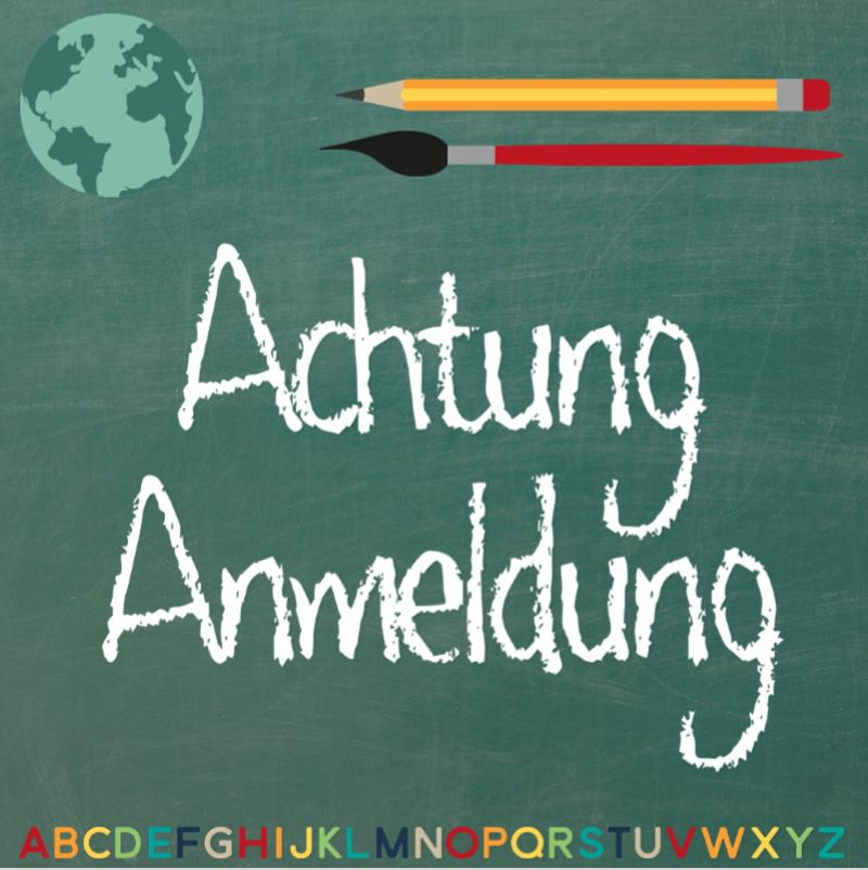 Schulanmeldung für das Schuljahr 2020/21
