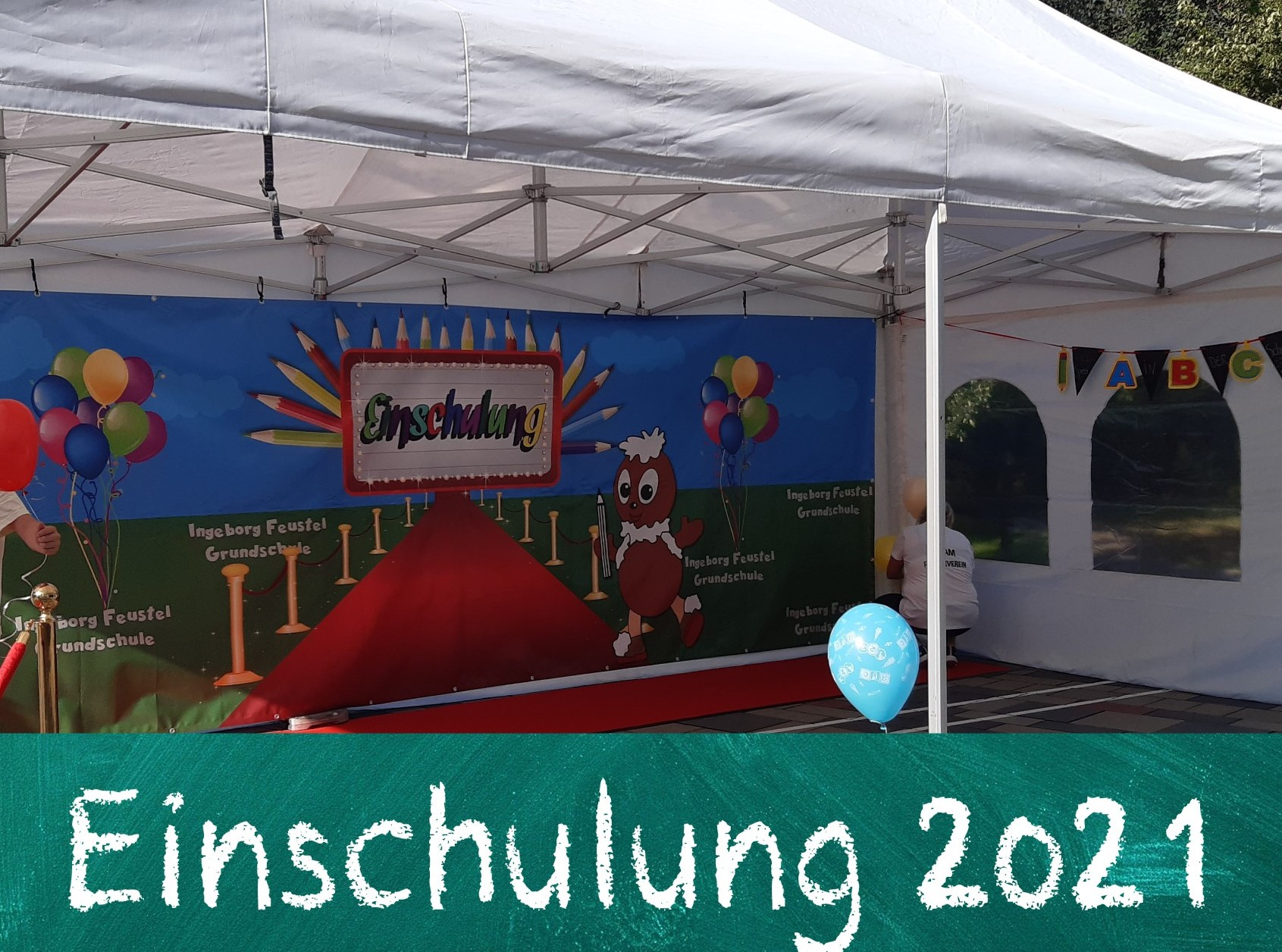 Read more about the article [Förderverein] Einschulung am 8.8.2021
